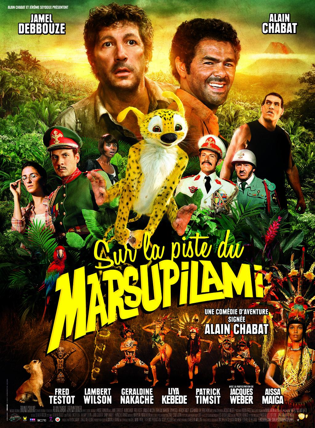 affiche du film Marsupilami