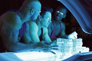 Mark Wahlberg et ses deux acolytes dans No Pain, no gain