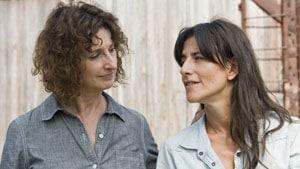 Pierrette Robitaille et Romane Bohringer dans Vic + Flo ont vu un ours