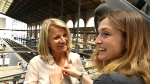 Nicole Garcia et Julie Gayet dans Cinéast(e)s