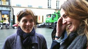 Valérie Donzelli et Julie Gayet dans Cinéast(e)s