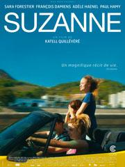 L'affiche du film Suzanne de Katell Quillévéré
