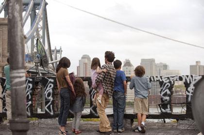 Audrey Tautou et Romain Duris, avec tous leurs enfants dans Casse-tête chinois