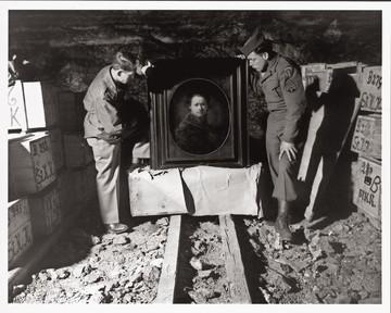 Un auto-portrait de Rembrandt récupéré dans la mine de Heilbronn par deux vrais Monuments Men en 1946