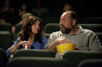 Julia Louis-Dreyfus et James Gandolfini
