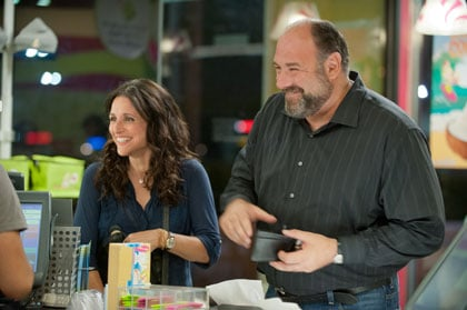 Julia Louis Dreyfus et James Gandolfini