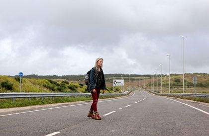 Saoirse Ronan, sur la route