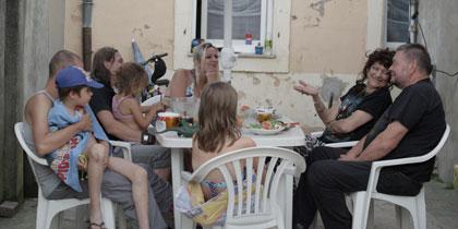 Michel, Angélique et ses enfants