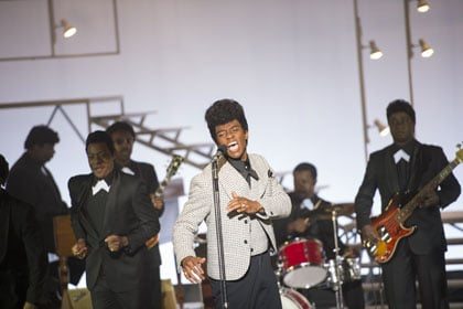 James Brown de l'époque des Famous Flames