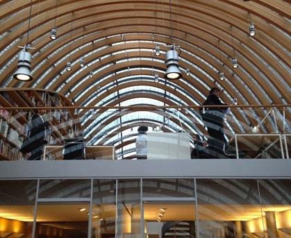 La verrière signée Renzo Piano du centre de documentation