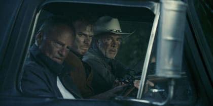 Sam Shepard, Don Johnson et Michael C.Hall