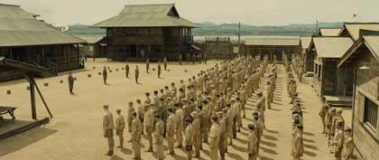 Le camp japonais de Kwajalein