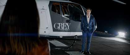 Dakota Johnson et Jamie Dornan dans 50 nuances de grey