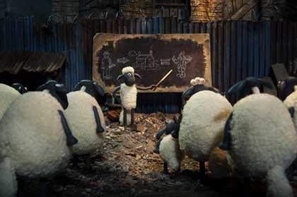 Shaun le mouton met au point sa stratégie