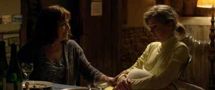Carmen Maura et Isabelle Carré dans Les chaises musicales