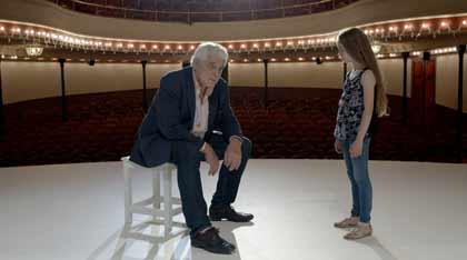 Jacques Weber et Nastasjia dans Je veux être actrice