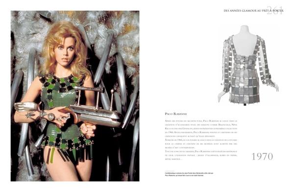 Fashion et Cinéma-Jane Fonda et Paco Rabanne