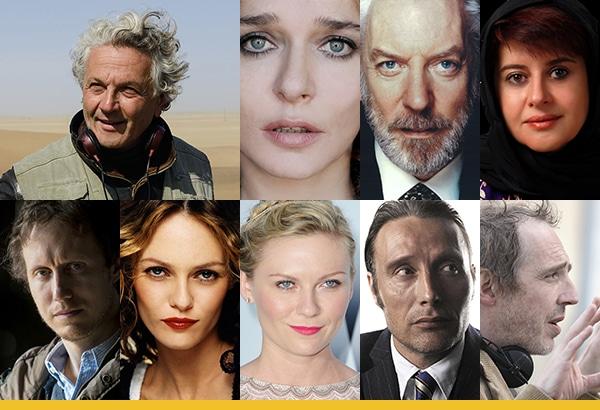 Les membres du jury du Festival de Cannes 2016
