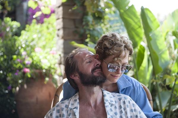 Ralph Fiennes et Tilda Swinton dans A bigger splash