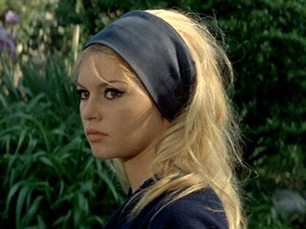 Brigitte Bardot dans Le mépris de Jean-Luc Godard - les tops 5 de Vincent Lebrun