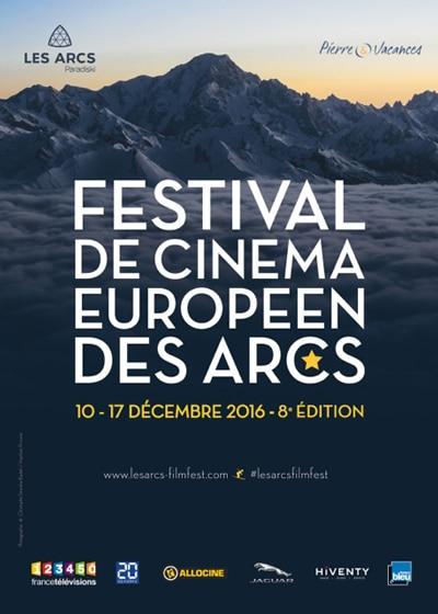 le 8e Festival de cinéma européen des Arcs